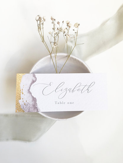 G O L D . L E A F . name card