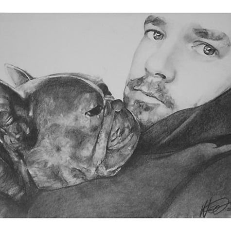 Dog and owner   by Neil