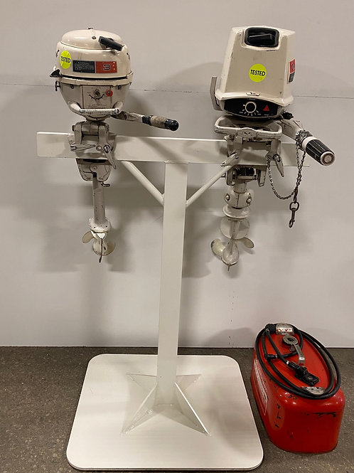 Outboard Motor Set with Stand & Tank