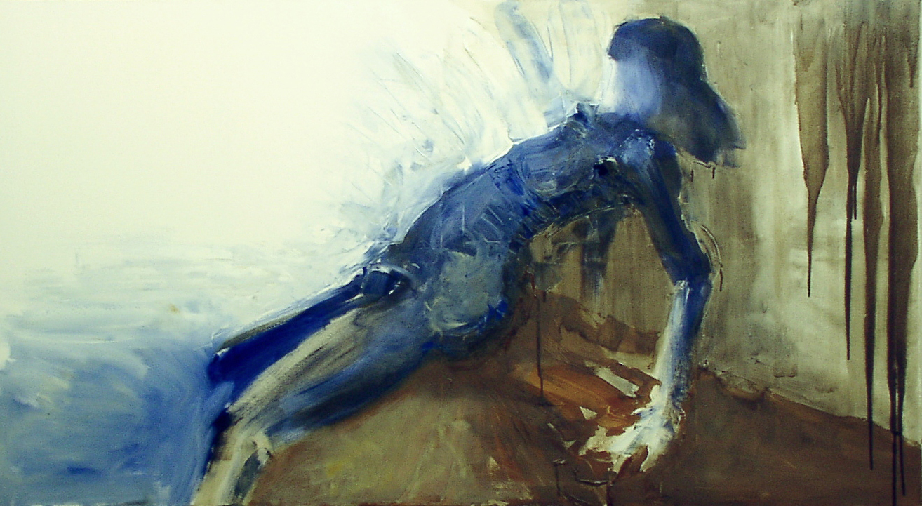 Nude II, 2002, oil on canvas, 120X180cm, 48X72''