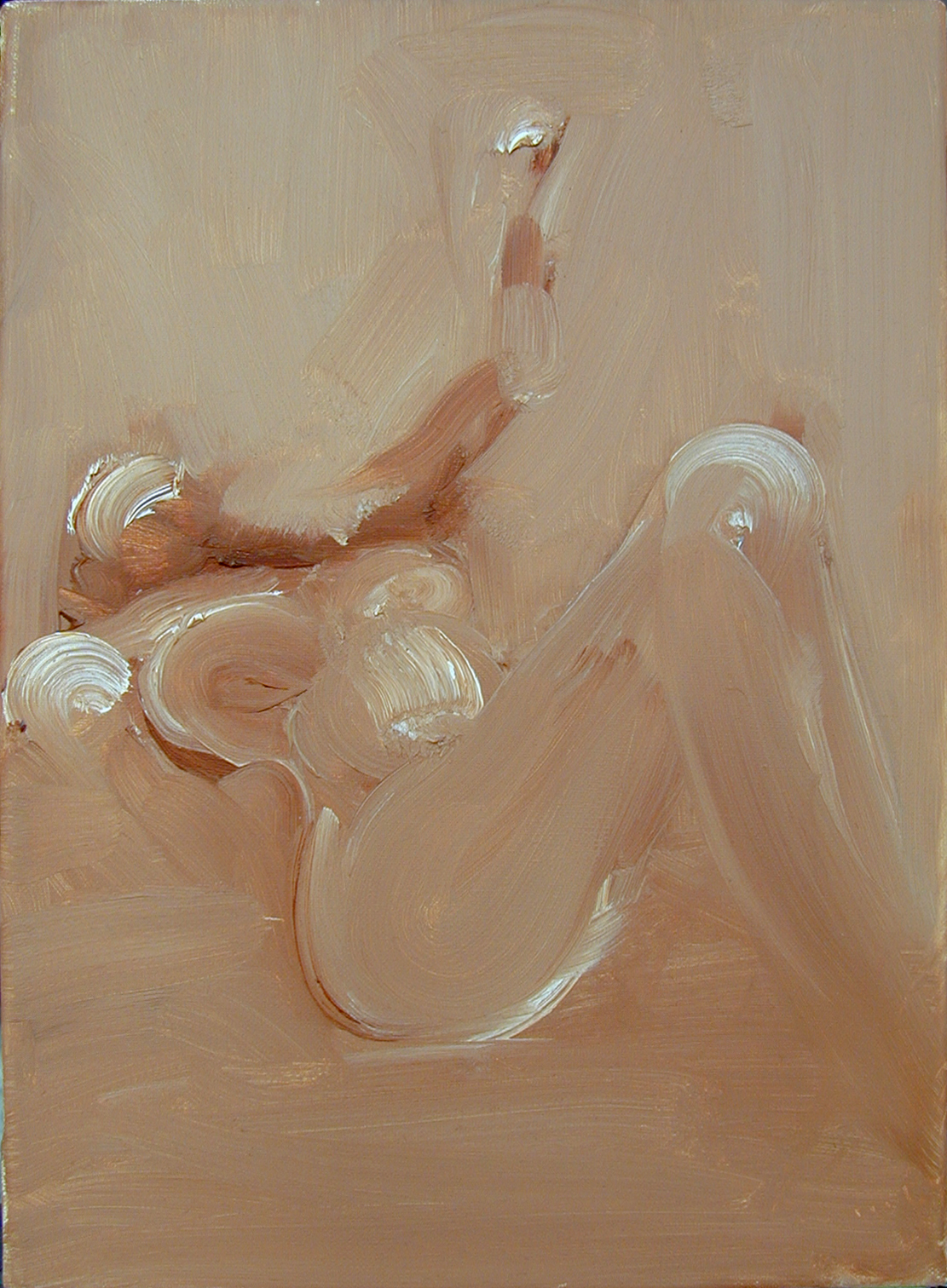 MINIATURE I, 2003, oil on canvas, 50X35cm, 20X14''