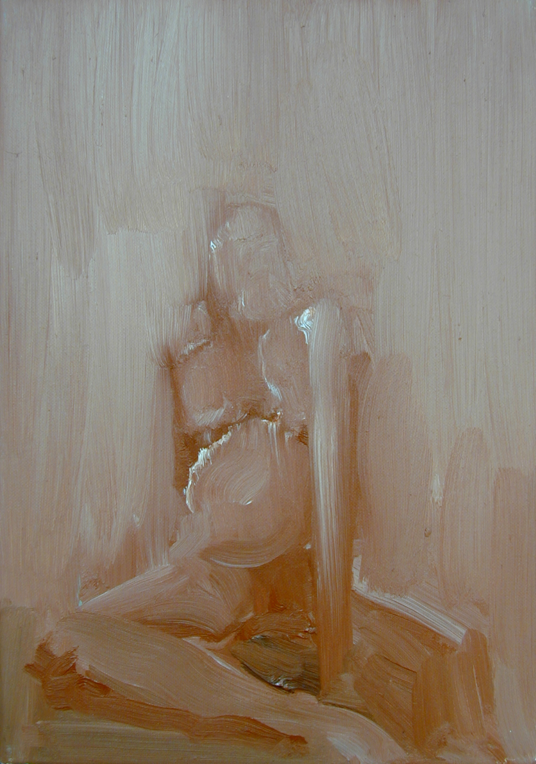 MINIATURE II, 2003, oil on canvas, 50X35cm, 20X14''