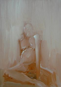 MINIATURE II, 2003, oil on canvas, 50X35cm, 20X14''