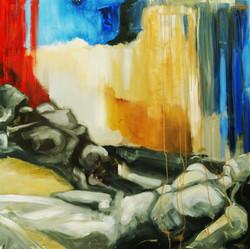 Erotic, 2010, oil on canvas, 120X120cm