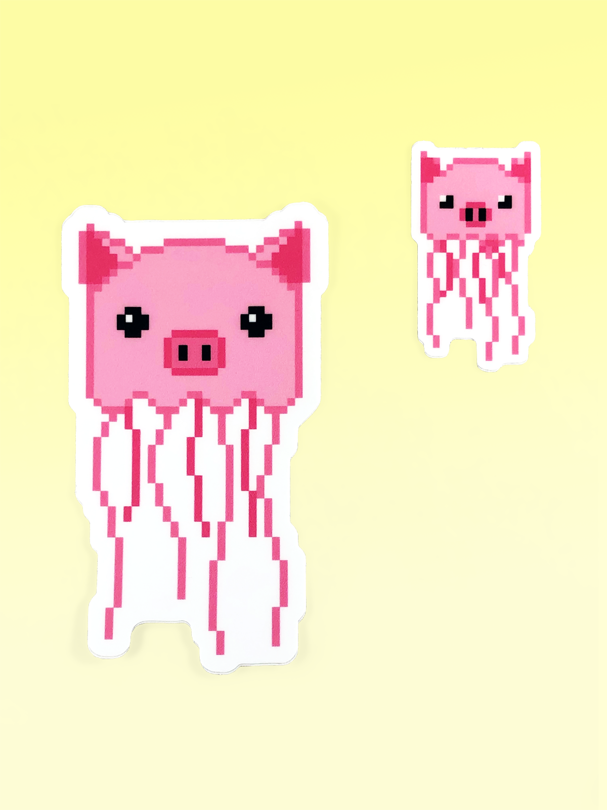 Jellypig Stickers