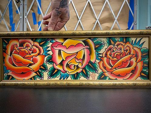 3 Roses by Ben Verhoek