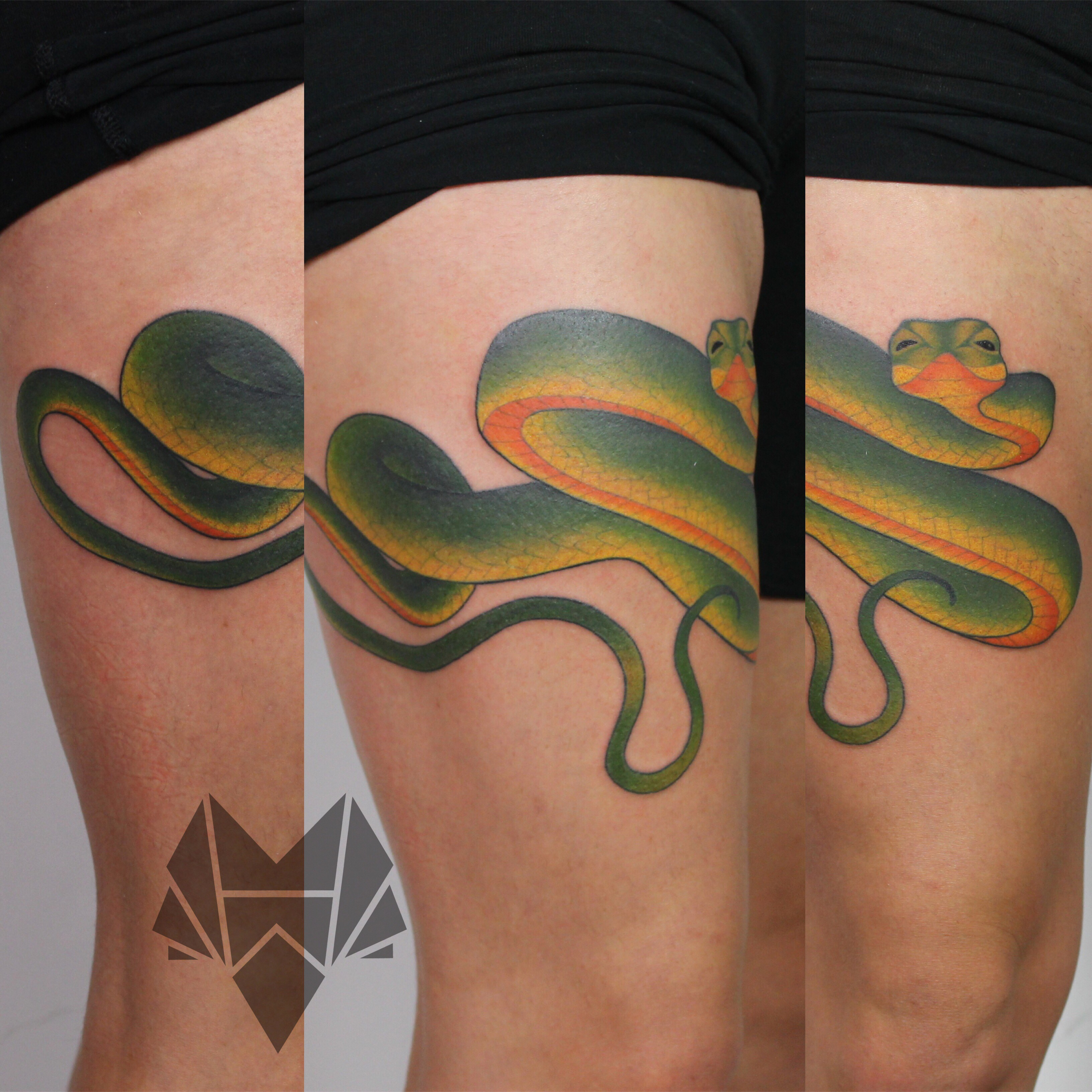greensnaketattoo
