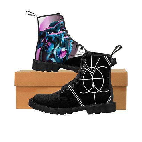 Shroom Head Men's Canvas Boots