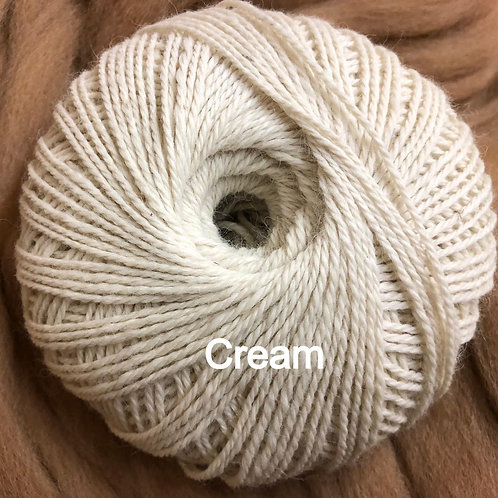 LUXURY ALPACA WOOL - Cream