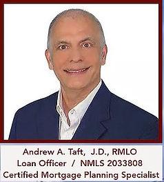 Andrew Taft, Loan Officer