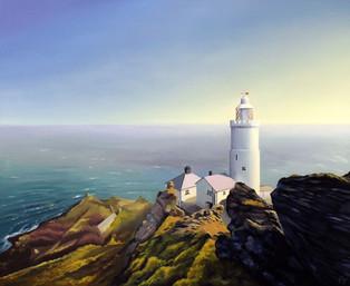 Start Point Lighthouse, Devon, England.