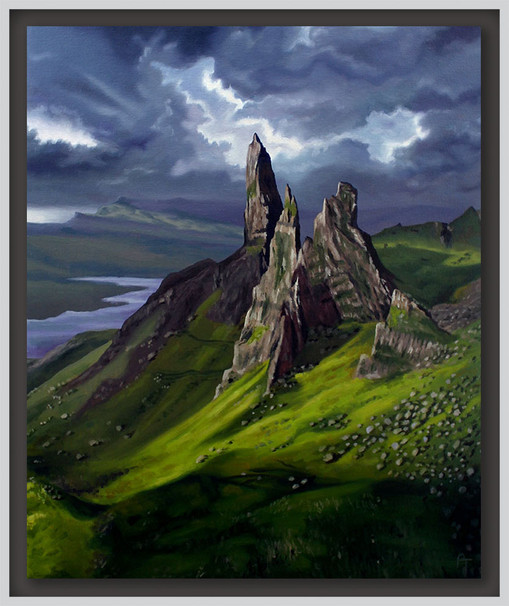 The Old Man of Storr, Isle of Skye. Scotland.