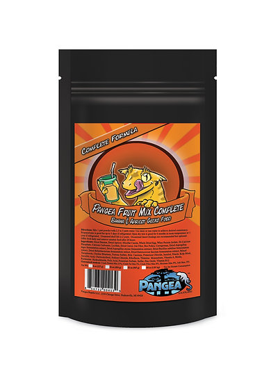 Pangea Fruit Mix™ Banana Apricot Complete Crested Gecko Food  - 16 oz (1 lb)