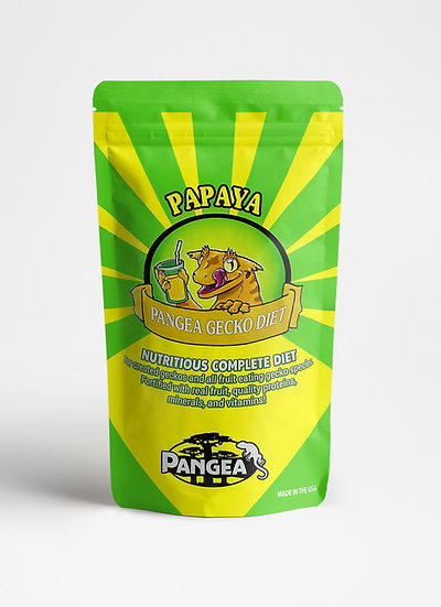 Pangea Papaya Crested Gecko Food - 16 oz (1 lb)