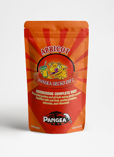 Pangea Apricot Crested Gecko Food  - 16 oz (1 lb)