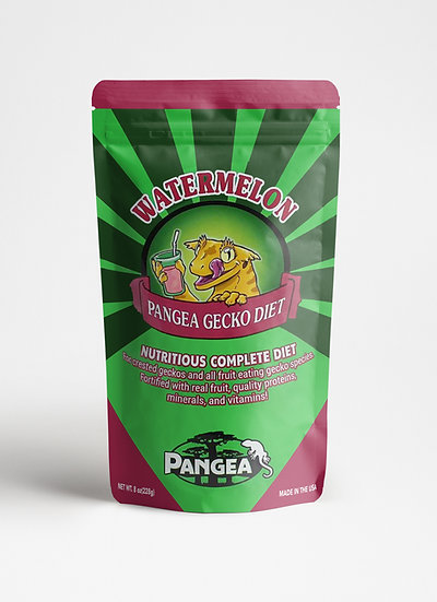 Pangea Watermelon Crested Gecko Food  - 16 oz (1 lb)