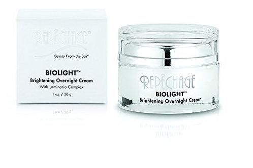 Repechage Biolight Overnight Cream Anti Aging Nightly Moisturizer with Laminaria