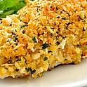 Fresh Herb & Parmesan Encrusted Flounder