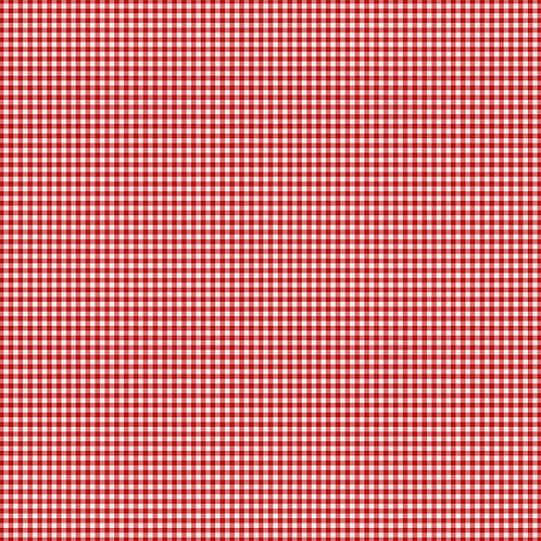 French Chateau & Bee - Gingham - Cherry