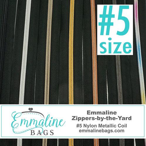 Emmaline Zippers  - size 5 - 3 metre pack