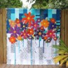 Free Bird Quilting - Indah Blossoms Quilt Pattern