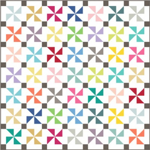 Spotty Pinwheels Quilt - Fabric pack