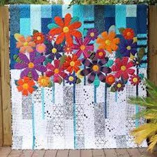 Free Bird Quilting - Indah Blossoms Quilt Pattern