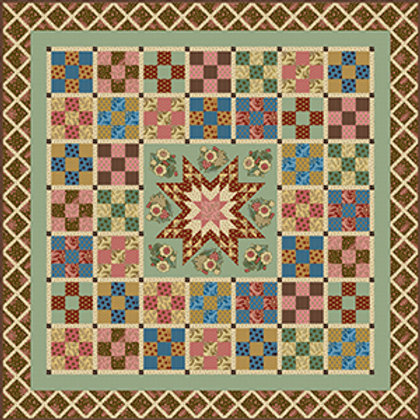 Di Ford-Hall 'Chesapeake' Quilt Kit