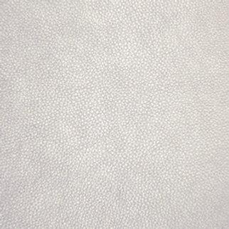 Santiago Faux Leather - Silver Metallic