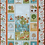 Thumbnail: Makower - Forest Friends Child's Cot Quilt or Play Mat Kit