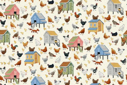 Village Life - Chickens