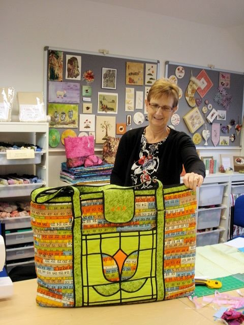 Ann's Patchwork Carry Bag
