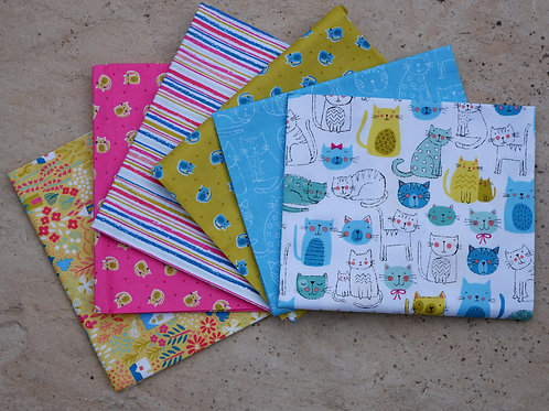 Makower - 'Kitty', Fat Quarter Collection