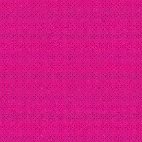 Spots - Purple on Pink
