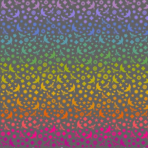 Art Theory - Birds & Bees, Black