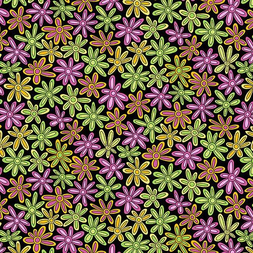 Hoot Hoot - Daisies - Pink/Yellow