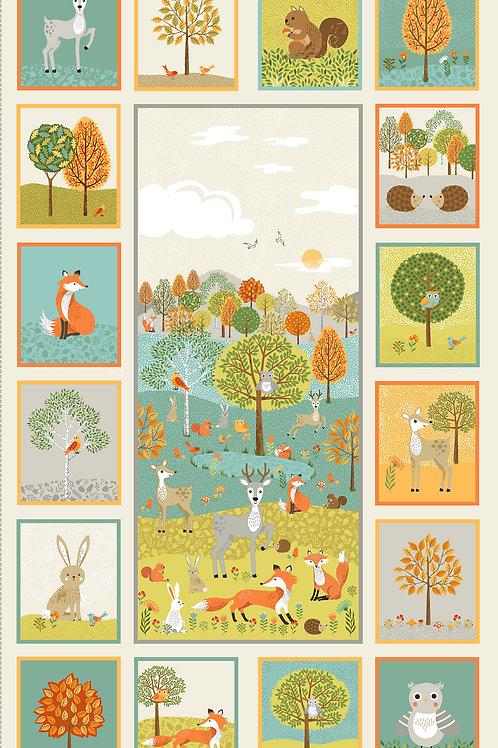 Makower - Forest Friends Panel
