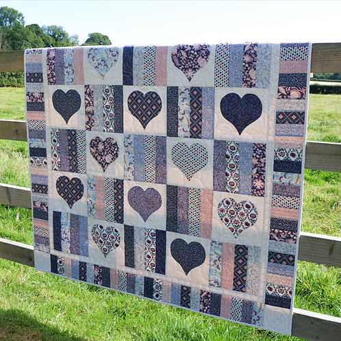 'Have a Heart' Quilt - fabric & pattern pack