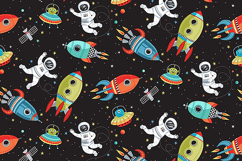 Outer Space - Scene Black