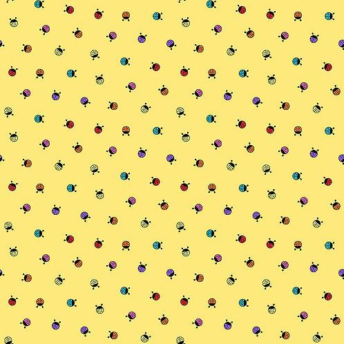 Hoot Hoot - Lady Bug - Yellow