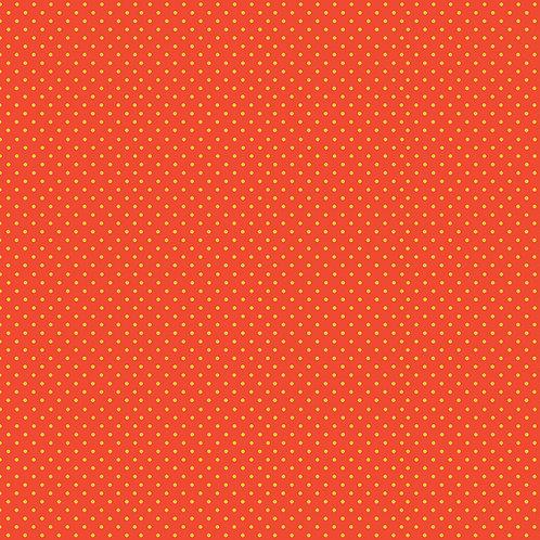 Spots - Yellow on Orange