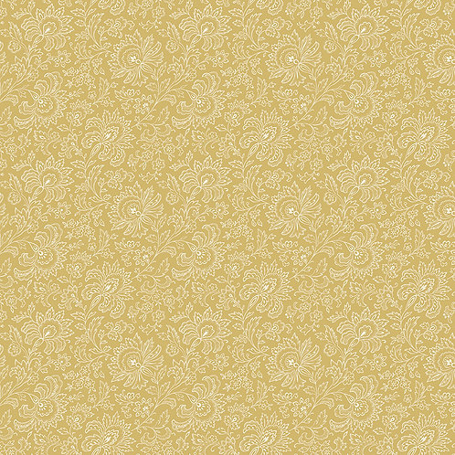 French Chateau & Bee - Paisley - Golden