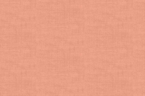 Linen Texture - Coral Pink