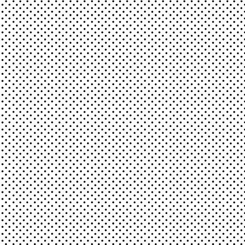 Spots - Black on White