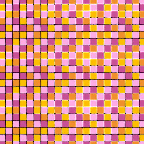 Hoot Hoot - Blocks - Pink