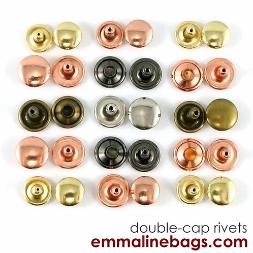Emmaline Bags - Double Cap Rivets