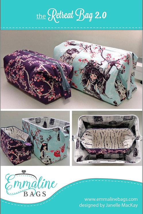 Emmaline - Retreat Bag Pattern - Free!