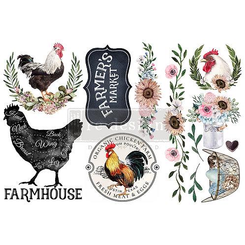 Morning Farmhouse-     Prima Mini Transfer