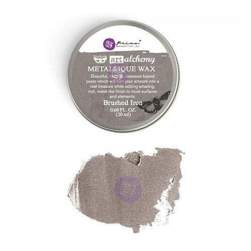 Metallique Wax- Brushed Iron