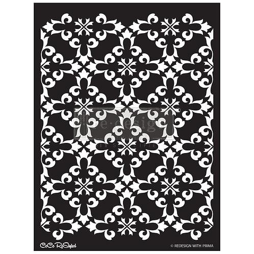 CeCe:  Gothic Trellis  - Prima Stencil